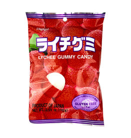 Kasugai Kasugai: Lychee Gummy (3.77oz)