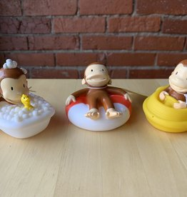 Schylling Curious George Bath Squirters