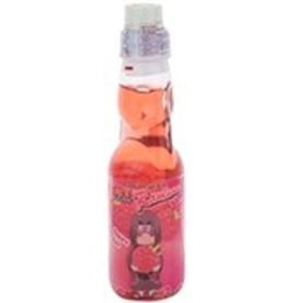 Ramune Ramune: Raspberry Soda 6.6oz Bottle