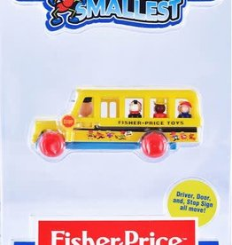 Super Impulse Worlds Smallest Fisher Price School Bus