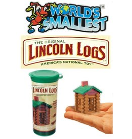 Super Impulse Worlds Smallest Lincoln Logs