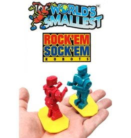 Super Impulse Worlds Smallest Rock 'Em Sock 'Em Robots