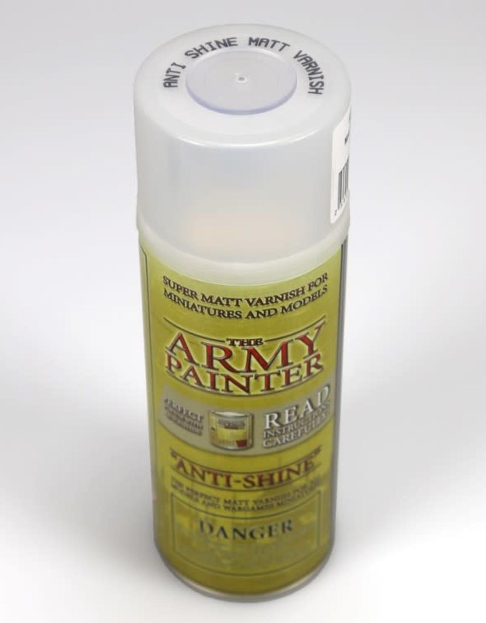 Army Painter Base Primer: Anti-Shine Matte Varnish (spray)