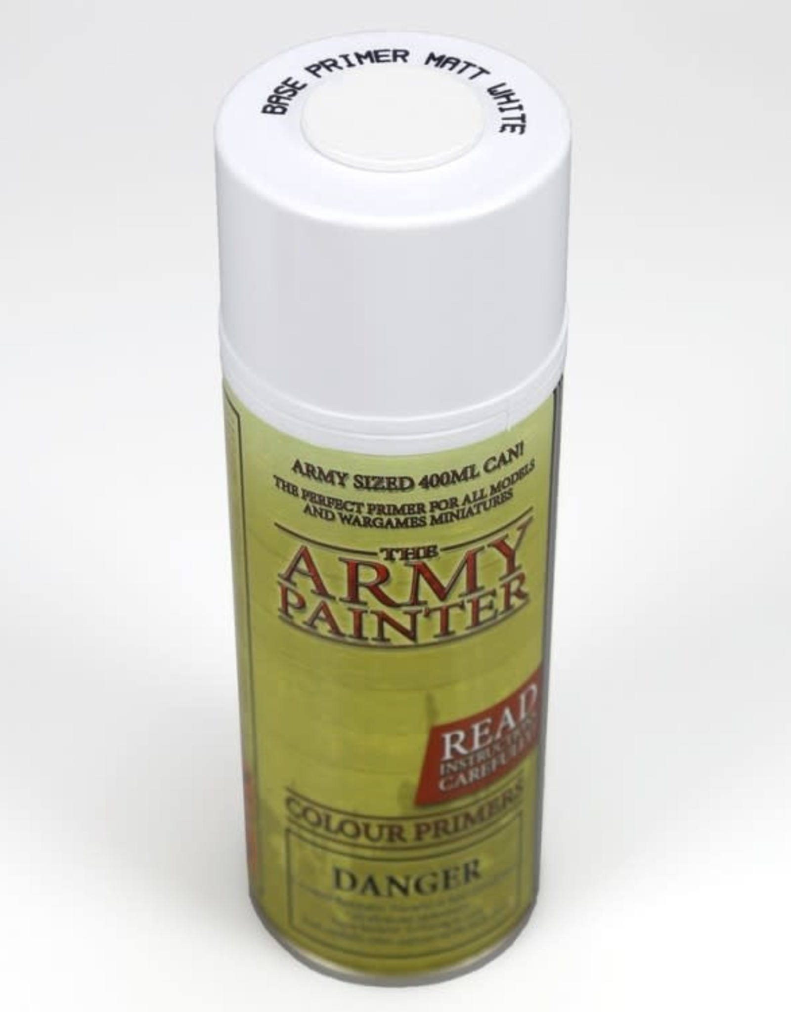 Army Painter Base Primer: Matte White (spray)