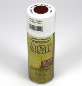 Army Painter Color Primer: Chaotic Red (spray)