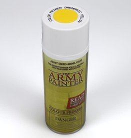 Army Painter Color Primer: Daemonic Yellow (spray)