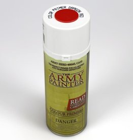 Army Painter Color Primer: Dragon Red (spray)