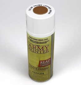 Army Painter Color Primer: Leather Brown (spray)