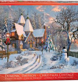Eurographics Inc Christmas Cottage 1000pc Puzzle