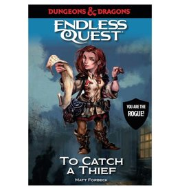 Penguin Random House D&D Endless Quest: To Catch a Theif