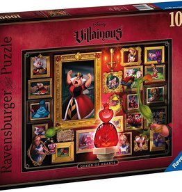 Ravensburger Villainous 1000pc Puzzle: Queen of Hearts