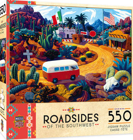 Master Pieces Touring Time 550pc Puzzle
