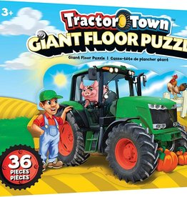 Master Pieces Tractor Town Floor Puzzle 36pc