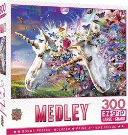 Master Pieces Unicorns & Butterflies 300pc Puzzle