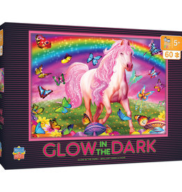 Master Pieces Rainbow World Glow-in-the-Dark 60pc Puzzle