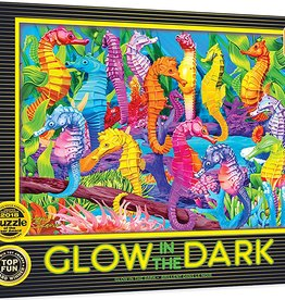 Master Pieces Singing Seahorses Glow-in-the-Dark 60pc Puzzle