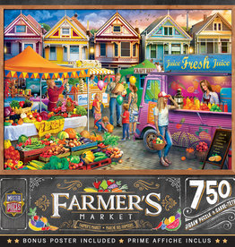 Master Pieces Weekend Market 750pc Puzzle