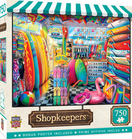 Master Pieces Beach Side Gear 750pc Puzzle