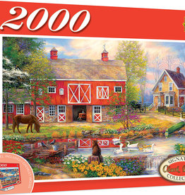 Master Pieces Reflections on Country Living 2000pc Puzzle