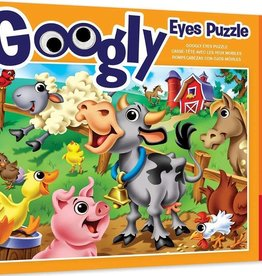 Master Pieces Googly Eyes Farm Animals 48pc Puzzle