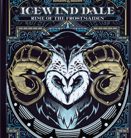 Wizards of the Coast D&D 5e: Icewind Dale: Rime of the Frost Maiden Limited Edition Cover (releases 9-15-2020)