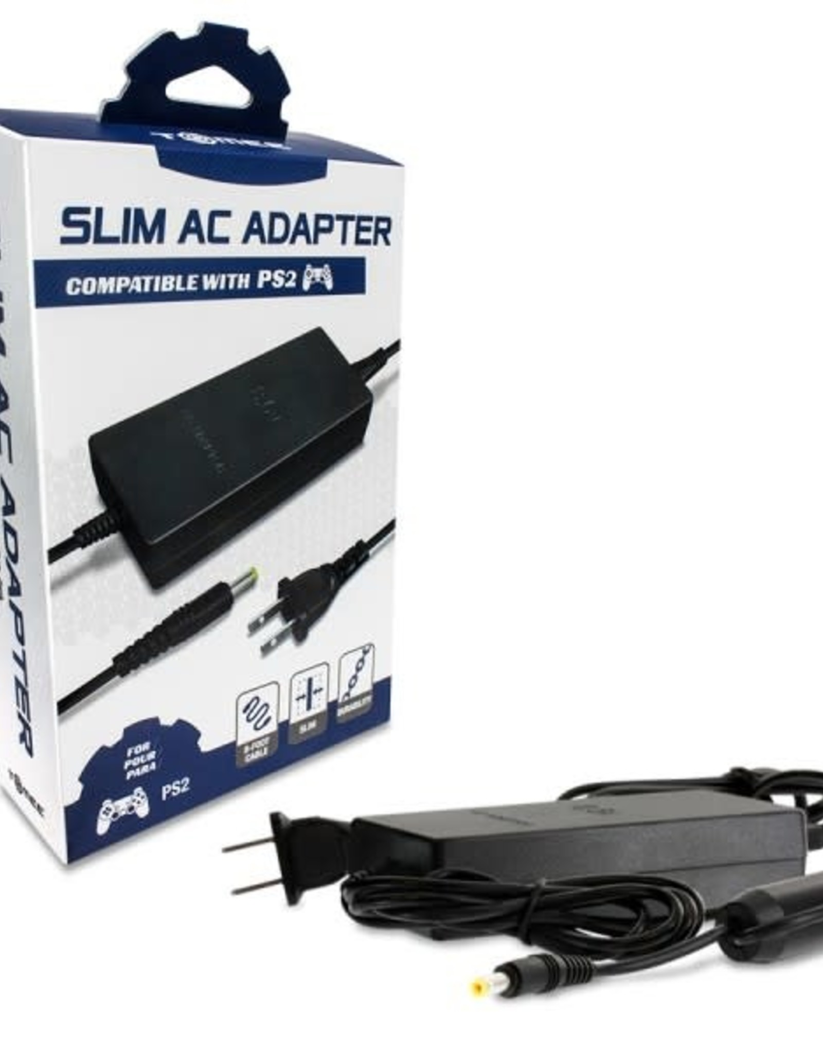 Tomee AC Adapter for PS2 Slim