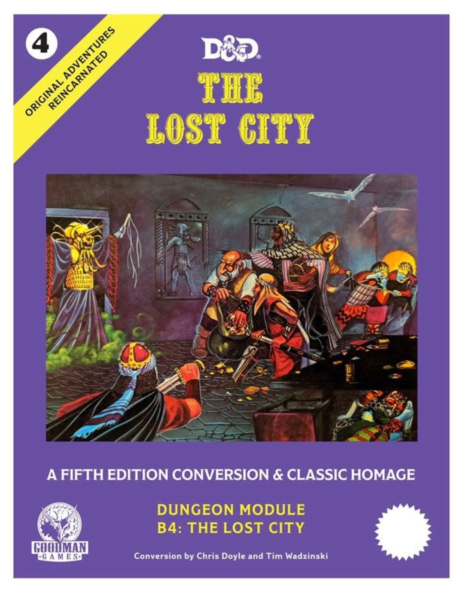 Goodman Games 5e Original Adventures: #4 The Lost City