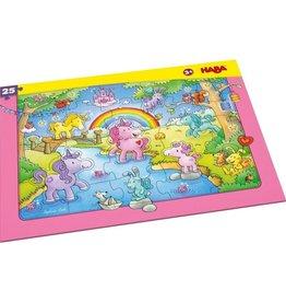 HABA Unicorn Glitterluck Frame 25pc Puzzle