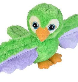 Wild Republic Huggers Green Parrot