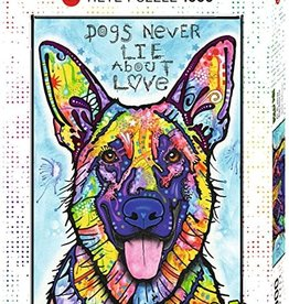 Heye Dogs Never Lie 1000pc Puzzle