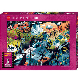 Heye Tim Burton Films 1000pc Puzzle