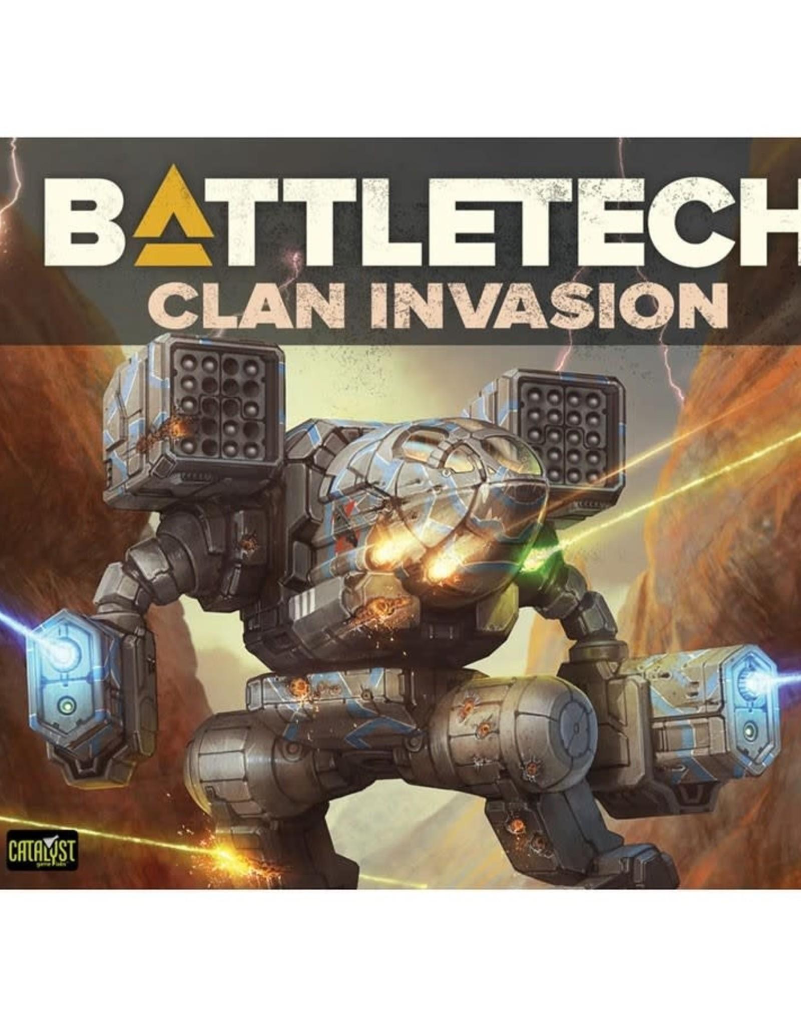 Catalyst Battletech: Technical Readout Clan Invasion