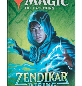 Wizards of the Coast Magic the Gathering: Zendikar Rising Draft Booster