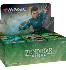 Wizards of the Coast Magic the Gathering: Zendikar Rising Draft Booster Box