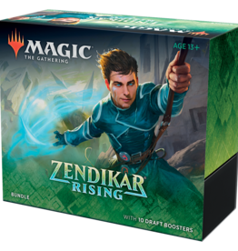 Wizards of the Coast Magic the Gathering: Zendikar Rising Bundle