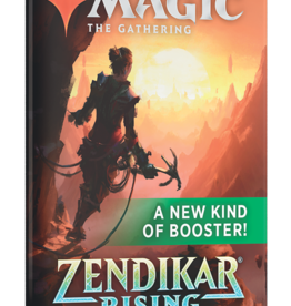 Wizards of the Coast Magic the Gathering: Zendikar Rising Set Booster