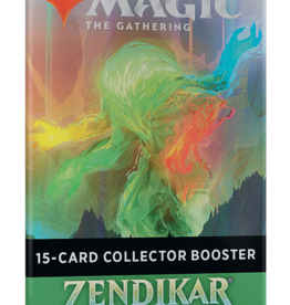 Wizards of the Coast Magic the Gathering: Zendikar Rising Collectors Booster