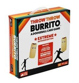 Exploding Kittens LLC Throw Throw Burrito: Extreme Outdoor Edition