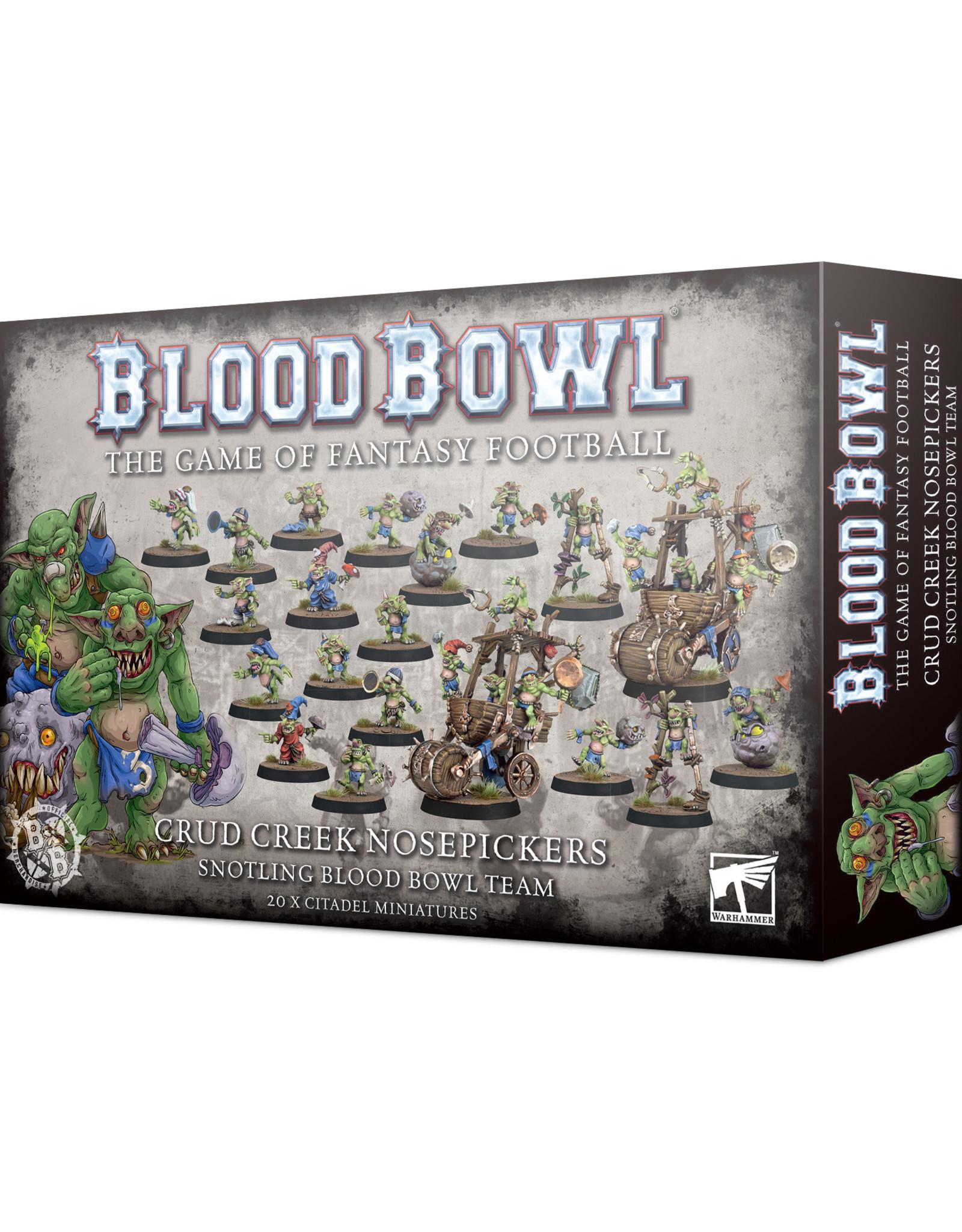 Games Workshop Blood Bowl: Crud Creek Nosepickers