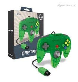"""Hyperkin """"Captain"""" Premium Controller For N64® (Lime Green)"""