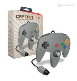 "Hyperkin ""Captain"" Premium Controller For N64® (Gray)"