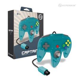 "Hyperkin ""Captain"" Premium Controller For N64® (Turquoise)"