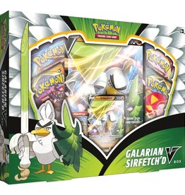 Pokemon Co. Int. Pokemon: Galarian Sirfetch'd V Box