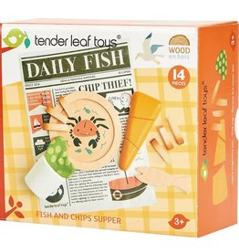 Tender Leaf Toys Fish and Chips Supper