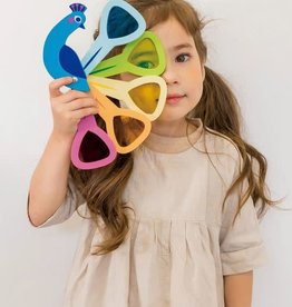 Tender Leaf Toys Peacock Colours