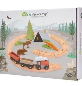 Tender Leaf Toys Treetops Train Set