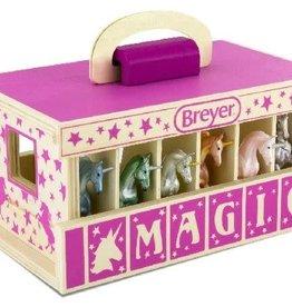 Breyer Unicron Magic Wooden Carry Case