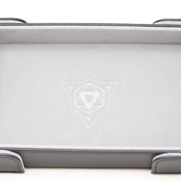 Die Hard Rectangle Magnetic Dice Tray Gray