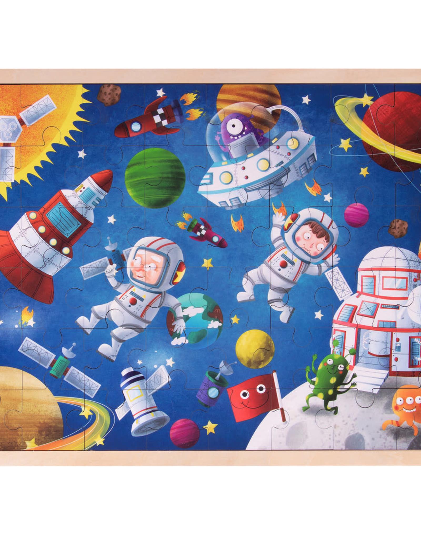Imagination Generation Adventurous Astronauts Wooden Jigsaw 48pc Puzzle