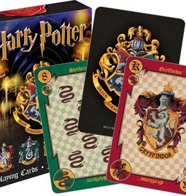 NMR Distribution Harry Potter Crests Playing Cards